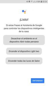 Ordenes de voz FIBARO en Español